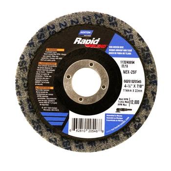 Disco de acabamento Rapid-Blend NEX-2SF 115x22mm - Norton - 66261020546 - Unitário