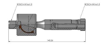 Articulação Axial - Nakata - N 99010 - Unitário