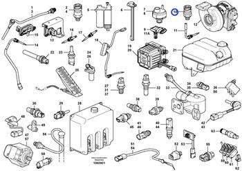 Sensor de Pressão - Volvo CE - 20796744 - Unitário