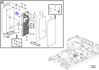 Caixa de Fusíveis - Volvo CE - 14602994 - Unitário