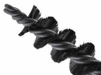 Escova Tubular Torcido Duplo 50mm com Fio 0,40mm - Abrasfer - T6000-50MM - Unitário