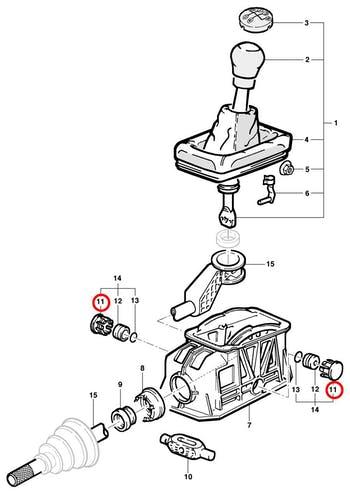 Bucha do Trambulador - Original Chevrolet - 93294976 - Unitário