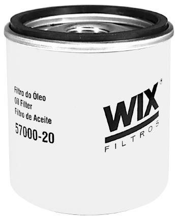 Filtro de Óleo - WIX - WL57000-20 - Unitário