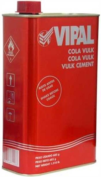Cola Cimento para Remendo à Quente 685g 900ml - Vipal - 475006 - Unitário