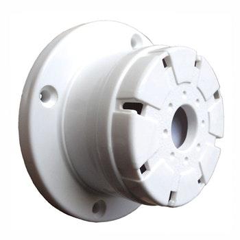 Sirene Piezoelétrica Para Teto E Parede Bitonal 115Db 12V - 8.5X4Cm - DNI - DNI 4204 - Unitário