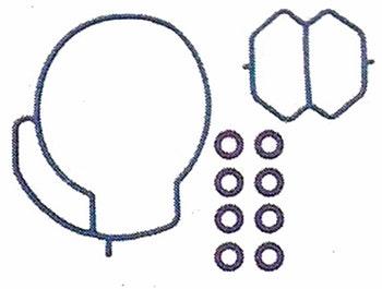 Kit de Reparo da Injeção Eletrônica - Kitsbor - 315.0022 - Unitário