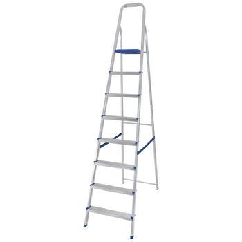 Escada de Alumínio com 8 Degraus - Mor - 5106 - Unitário