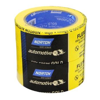 Fita crepe automotiva Reparo/Restauração 48mmx40m - Norton - 66261164287 - Unitário
