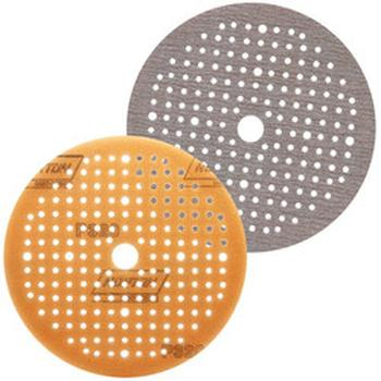 Disco de lixa espumado seco A275 grão 320 150mm c/ x furos - Norton - 63642560574 - Unitário