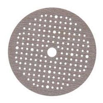 Disco de lixa espumado seco A275 grão 320 150mm c/ 180 furos - Norton - 63642560574 - Unitário