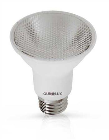 Lâmpada Led Par 20 6W Bivolt E-27 Branca 6500K Ourolux - Ourolux - 1078309 - Unitário