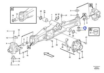 Rolamento Esférico - Volvo CE - 11709400 - Unitário