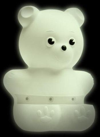Suporte Plástico Urso 15,5 x 20cm - Prat-K - 8535003 - Unitário