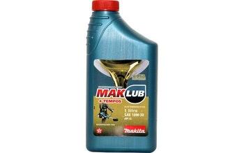 Lubrificante para Motor 4T 1 Litro - MAKLUB - Makita - MAKLUB4T - Unitário