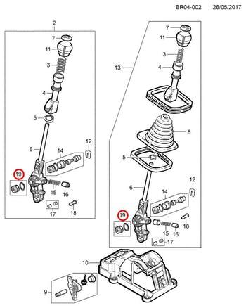 Bucha do Trambulador - Original Chevrolet - 93294977 - Unitário