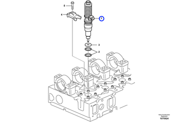 Bico Injetor REMAN - Volvo CE - 9021371673 - Unitário