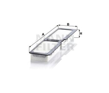 Filtro do Ar Condicionado - Mann-Filter - CU4466 - Unitário