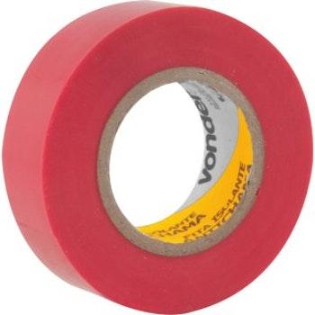 Fita Isolante, 19 mm X 10 m, Vermelha - Vonder - 11.37.191.091 - Unitário