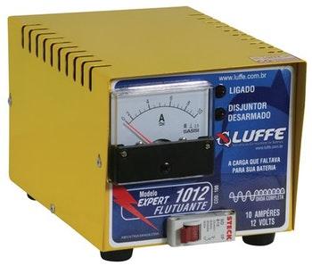 Carregador de Bateria com Amperímetro Flutuante 10A-16V Bivolt - Luffe - COD 100 - FLUTUANTE 1610 - Unitário