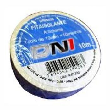 Fita Isolante em PVC Branca 10m - DNI 5028 - DNI - DNI 5028 - Unitário