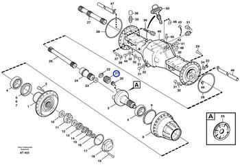 Engrenagem Planetária - Volvo CE - 11035819 - Unitário