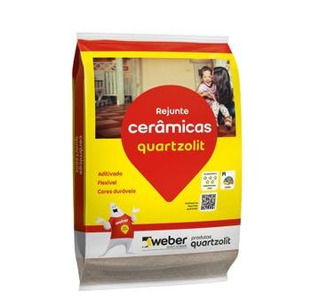 Rejunte Cerâmicas Marrom Café 1kg - Quartzolit - 0107.00049.0015FD - Unitário
