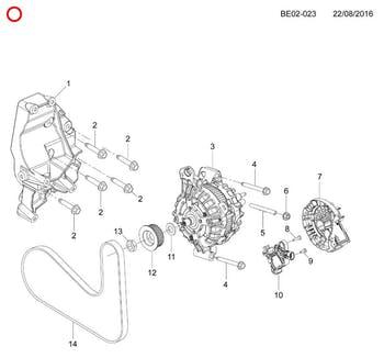 Regulador de Tensão - Original Chevrolet - 94753743 - Unitário