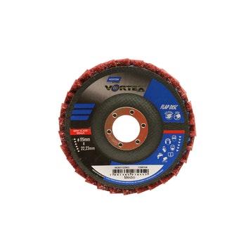 Disco flap Vortex - médio vermelho - Norton - 66261122503 - Unitário