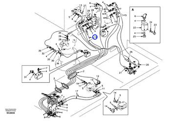 Mangueira Completa - Volvo CE - 9453-02346 - Unitário