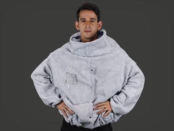 Blusão tipo JATISTA - Em raspa, 80 cm - Zanel - Zanel - BJ-80VB - Unitário