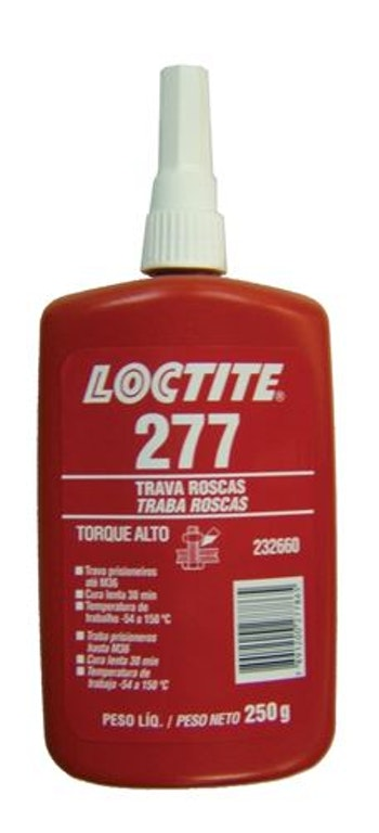 Adesivo Anaeróbico Trava Rosca 277 250g - Loctite - 232660 - Unitário