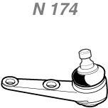 Pivô - Nakata - N 174 - Unitário