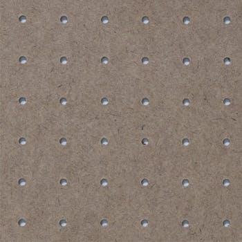 Chapa de Fibra Perfurada Eucadur Marrom 3mm