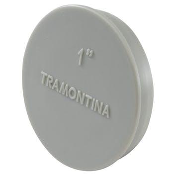 """Tampão para Condulete Múltiplo - 1"""" - Tramontina - 56114053 - Unitário"""