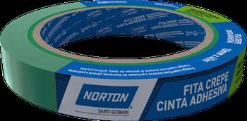 Fita crepe automotiva Premium 18mmx40m - Norton - 66261103310 - Unitário