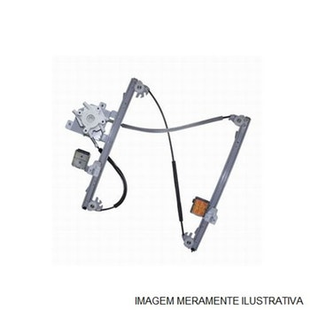 Máquina do Vidro Elétrico Com Motor Original - Universal - 30415 - Kit