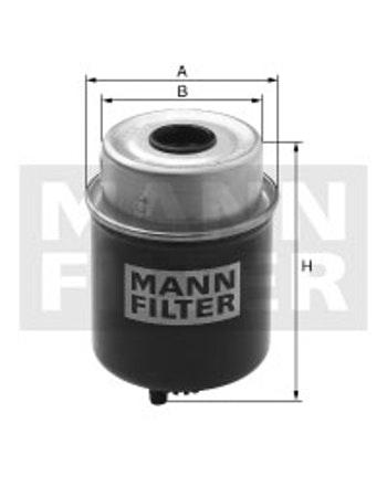 Filtro Blindado do Combustivel Separador D'água - Mann-Filter - WK8110 - Unitário