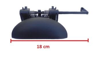 Maçaneta Externa Dianteira (2P / 4P) Esq. - ORI - 8201 - Unitário