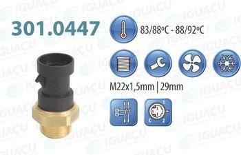 Interruptor Térmico do Radiador - Iguaçu - 301.0447-88/92 - Unitário