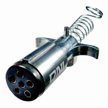 Tomada de Engate Macho 6 Polos Alumínio Reforçado - DNI 8362 - DNI - DNI 8362 - Unitário