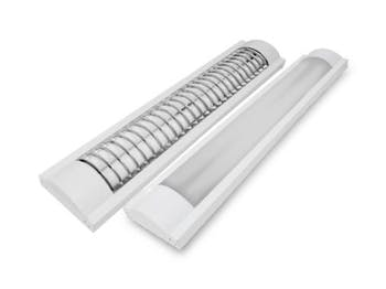 Lâmpada Luminária Tubular LED T8 2x18W Bivolt 6500K - Ourolux - 05523 - Unitário