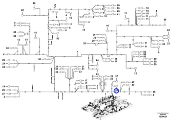 Porta Fusíveis - Volvo CE - 14587774 - Unitário