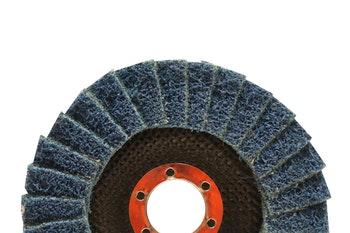 Disco flap Vortex muito fino - azul 115x22mm - Norton - 66261122504 - Unitário