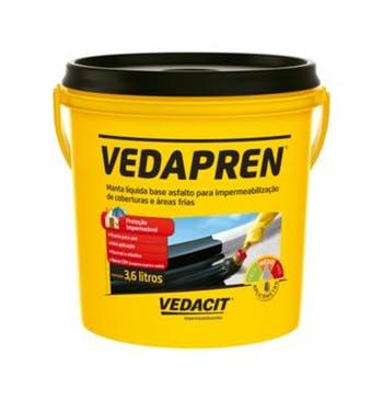 Manta Líquida Vedapren 3,6L - Vedacit - 111804 - Unitário