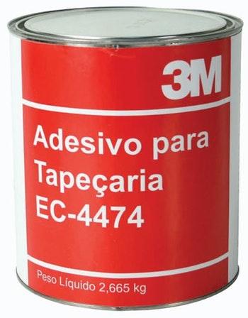 Adesivo Contato EC - 4474 2,66Kg - 3M - H0000499782 - Unitário