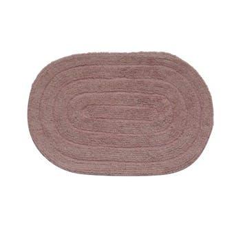 Tapete Allegro Oval 40x60 - Rosa claro - Kapazi - 28ALLE05 - Unitário