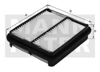 Filtro de Ar - Mann-Filter - C2136/1 - Unitário