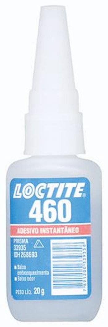 Adesivo Instantâneo 460 20g - Loctite - 268693 - Unitário
