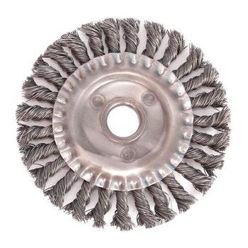 Escova Circular Aço Trançado 150x13mm Fio 0,50mm 8000RPM - Diametro - 7010-13 - Unitário