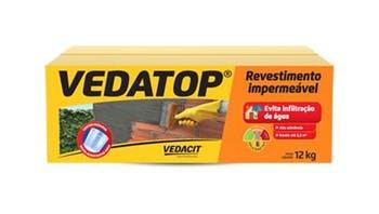 Argamassa Vedatop 12kg - Vedacit - 111942 - Unitário